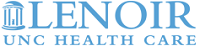 UNC Lenoir Health Care Logo